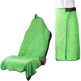 Orange Mud Transition Wrap 2.0 Multifunctional Towel, lime green